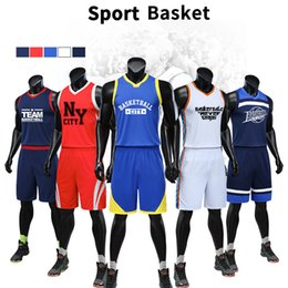 d8eb1385506c European and American season basketball clothing suit student children training  jerseys quick-drying breathable sportswear wholesale price
