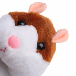 Wholesale Battery Stuffed Toy - 2018 NEW Talking And Walking Hamster Sound Record Plush Toys Stuffed Speak Pet Gift