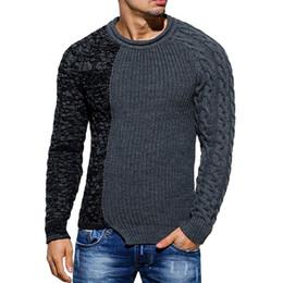 moda mais roupas de tamanho Desconto Colar de cor nova personalidade colarinho dos homens de comércio exterior dos homens estrangeiros plus size camisola homens roupas 2018 homem camisola