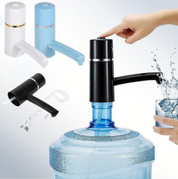 Wholesale water pump electric - Auto Portable Wireless Electric Pump Dispenser Drinking Switch Water Bottle Electric Water Dispenser Kitchen Tools DDA243