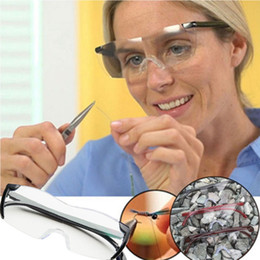 Wholesale Time Wholesale - Big Vision 250% Reading Glasses Men Women Frameless Magnifying 1.6 times +250 Degrees Magnifies Glasses GGA137 10PCS
