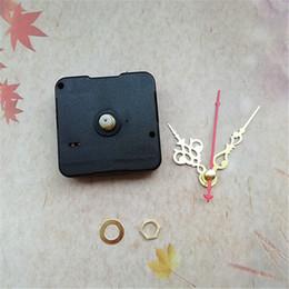 2019 fern-portable alarm Großhandel 50 STÜCKE Sweep Keine Tic Quarzuhr Movement Mechanism Mit Arme Für DIY CD Uhr Reparatur Zubehör
