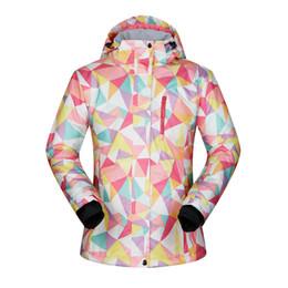 Women Winter Ski Jacket Waterproof 2018 Outdoor Jacket Snowboard Coat  Female Snow Wear Ski Women Windproof Breathable 43d6a14e4