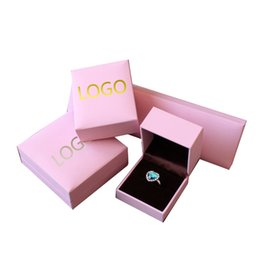 Wholesale Handmade Stamped Jewelry - High-end Necklace Earrings Ring Bracelet Bangle Jewelry Box Accessories Packaging Gift Pack Case Display Storage Cotton Filled