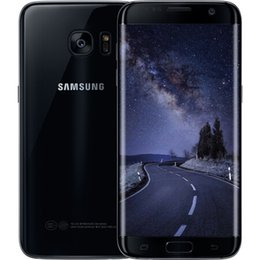 разблокированные галактики сотовых телефонов Скидка Восстановленное в исходном Samsung Galaxy S7 Edge G935A G935V G935T G935P разблокированный сотовый телефон 5,5 окта Core 4 ГБ / 32 ГБ 12MP 4 Г LTE