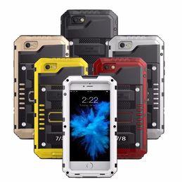 Caso ip68 online-Per iPhone 7 8 Plus Custodia impermeabile estiva Redpepper Custodia protettiva antiurto IP68 per nuoto