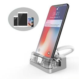 (10 unidades / paquete) BF1070 pantalla de escritorio vertical control remoto alarmas de seguridad anti robo en tiendas de alimentación soporte para iphone desde fabricantes