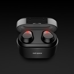 ROCKSPACE TWS Bluetooth Kopfhörer Ohrhörer Touch Control Hifi Stereo Funkmikrofon für Telefon mit Ladegerät Ladebox Mini von Fabrikanten