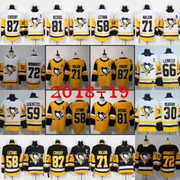 87 Sidney Crosby Pittsburgh Penguins Tercer tercer jerseys alternativos Evgeni Malkin Kris Letang Jake Guentzel Phil Kessel Murray Hornqvist Kessel desde fabricantes