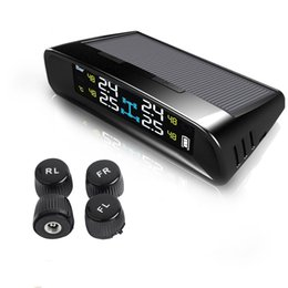 car alarm auto security Coupons - LMYSTAR TPMS Car Tire Pressure Monitoring System Solar Power Digital Panel Display Auto Security Alarm Systems Tyre Pressure