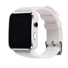 Wholesale facebook camera for android - X6 Bluetooth Smart Watch with Camera Supports SIM TF Card Smartwatch Sports Watch Sync Facebook Whatsapp Message for Android