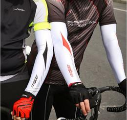 Nova marca Sunscreen Bicicleta Ciclismo Cuff Arm Warmers Sleevelet Capa de Proteção UV Sun Protection Braço Manga Bicicleta Sleevelet de Fornecedores de manguito protetor solar mangas de proteção uv