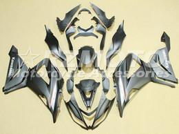 Wholesale Kawasaki 636 Motor - New ABS motor Fairing Injection Mold Full set Fit For kawasaki Ninja ZX6R 599 636 13-16 ZX-6R 2013 2014 2015 2016 2017 color matte black