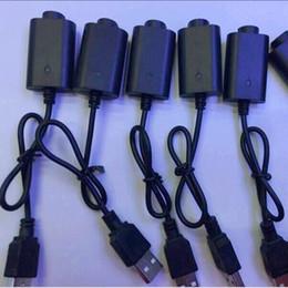 caricabatteria universale Sconti Caricabatterie USB per batteria per vaporizzatore EGO ECIG Cavo, E cig Caricatore USB per ego, ego-T, sigaretta elettronica Healthy E-cigarette 5