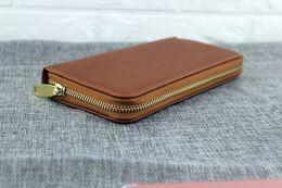 Wholesale Cheap Leather Ladies Wallet - Hot! wholesale 2017 famous brand fashion single zipper cheap luxury designer women pu leather wallet lady ladies long purse