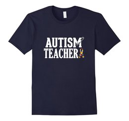 Wholesale White Safety Pins - Autism Teacher Safety Pin Awareness Shirt