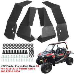 Wholesale Fender Flares - UTV Front Rear For Fender Flares Mud Flaps For Polaris RZR900 RZR1000 2015-2017