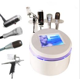 2019 ultrasuoni martello Nuovo arrivo V Max rimozione delle rughe ad ultrasuoni Oxygen Jet Peel Cold Hammer BIO Microcurrent Face Lifting Massaggio facciale HIFU portatile Macchina sconti ultrasuoni martello