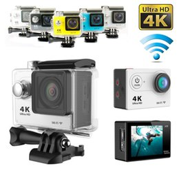 Wholesale Waterproof Action Video Camera - Ultra 4K HD 1080P Waterproof WiFi Diving 170 Degrees SJ9000 DV Action Sports Camera Video Camcorder