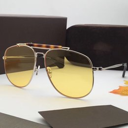 Wholesale Free Pc Protection - Luxury 557 Sunglasses For Women Brand Designer Fashion Popular Retro Style UV Protection Lens Square Frame Top Quality Free Come With Case