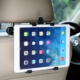 Wholesale Products Stands - Adjustable Auto Car Back Seat Black Mount Holder Pad Holder Stand For ipad 2 3 4 & Other Pad Products Easy Install & Disassemble
