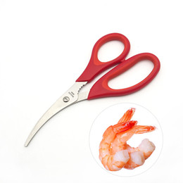 Wholesale Fishing Cutters - Fish Belly Cutter Shears New Multi Function Seafood Lobster Shrimp Scissors Kitchen Tool High Quality 3 5cy C