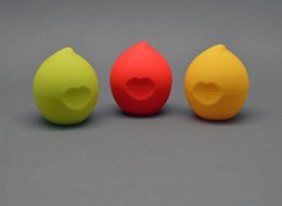 Wholesale Lip Balm Boxes Wholesale - Peach shape empty lip balm container cosmetics lip gloss holder cream jars DIY lip gloss storage box