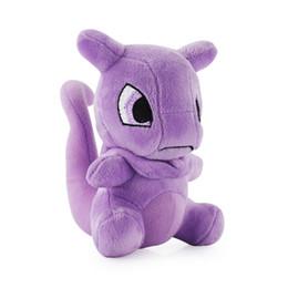 Mewtwo jouets en Ligne-Mewtwo Plush Toys Mewtwo Peluches en coton doux pp de bonne qualité EMS A158