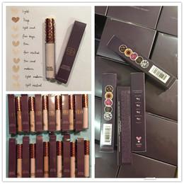 Wholesale makeup light box - New Makeup Shape Tape Concealercontour 12 colors box 10ml contour concealer Fair Light Medium Tan Light sand Deep foundation