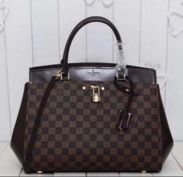 87399e1be920 N41150 RIVOLI MM handbag Damier canvas tote HANDBAGS TOP OXIDIZED REAL  LEATHER ICONIC BAGS SHOULDER BAG CROSS BODY BUSINESS MESSENGER BAGS