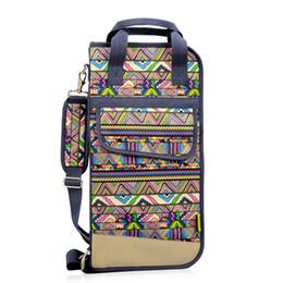 Strumenti a cremagliera online-bacchette sacchetto impermeabile sacchetto portatile del club di spalla pacchetto dello strumento cremagliera del tamburo