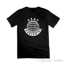Vintage T Shirts Mens A $ Ap Mob Logo Asap Rocky Lord T-shirt à encolure ras du cou pour hommes élégants pour hommes ? partir de fabricateur