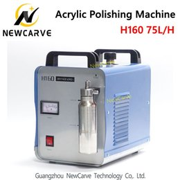 H160 75L Acrílico Chama Polishing Oxygen Hidrogênio polidor 220 V de
