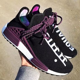 Wholesale Fall Specials - SPECIAL COLOR WITH BOX 2018 New NMD Human Race Pharrell Williams Women Men Mens Designer Running Luxury Brand Trainers Shoes Sneakers