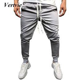 161d709eb1b Vertvie Men s Running Sweatpants Joggers Tights Man Gym Fitness Pants  Elastic Trousers Sportswear Fitness Workout Pants Skinny