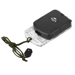 bussola di tasca antica all'ingrosso Sconti NaruteHike Outdoor Professional multifunzione luminosa trasparente NH Compass Camping Escursionismo Bussola Drop Shipping