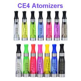 ego t clearomizers Promotion 1.6 ml CE4 atomiseurs CE4 clair cartomizers CE4 Clearomizers pour ego-t batterie ego kit e-cigarette avec bobine remplaçable