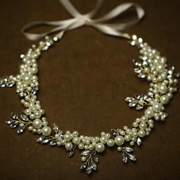 Perles De Mariée Cheveux Longs Peigne Or Argent Bandeau De Mariage Femmes Bague Cheveux Couronne Accessoires Bijoux À La Main ? partir de fabricateur