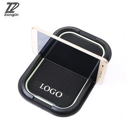 Wholesale Kia Sorento Wholesale - ZD 1Pc Car Non-slip Mat phone stand Stickers Styling For Kia Rio K2 K3 Soul Sorento For Kia Sportage 2017 2016 2015 Accessories