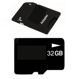 Wholesale Retail Packaging Products - 2018 Top Selling Product 32GB 64GB 128GB 256GB C10 TF Flash Memory Card Class 10 Free SD Adapter Retail Blister Package Epacket DHL Free Shi