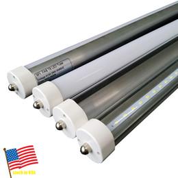 Wholesale Bright Feet Led - led tubes 8 foot 45w 8ft FA8 2400mm T8 Led Tube Lights High Super Bright 45W 4800lm Cool White Led Fluorescent Tube AC110-277V