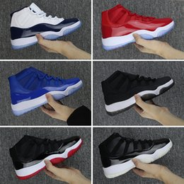 """Wholesale Basketball Number 23 - 2018 Number """"45"""" 23 Retro 11 Space Jam Basketball Shoes Men Women win like 82 j11 win like 96 Top Athletic Sport Trainers Sneakers With Box"""