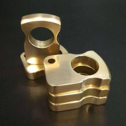 guantone china Sconti New Brass EDC Single Finger Knuckle Duster Ring Outdoor Autodifesa Multi-funzionale Anello Anti-lupo Gear Specchio lucidato Knuckles Fibbia