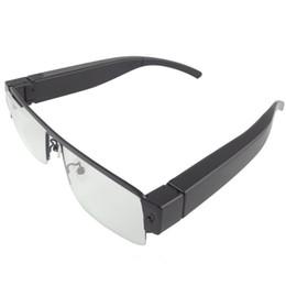 Wholesale Digital Eyeglasses - HD 1080P Glasses Frame Camera Mini Portable Camcorder Sunglasses Camera Mini Digital Video Recorder Eyewear Cam Mini Eyeglass DV