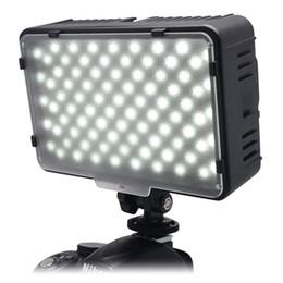 Canada Mcoplus 168 LED vidéo lumière sur la caméra photographique photographie éclairage de panneau pour caméscope Canon Nikon Sony DV VS CN-160 Offre