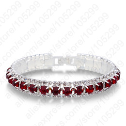 Wholesale 925 Silve - whole saleJEXXI Last Design 925 Sterling Silve Women Classic Jewelry Clear Cubic Zircon Bracelet& Bangle Wholesale