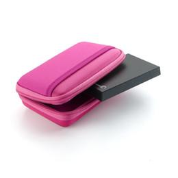 """Festplattenlaufwerk online-Neue bunte tragbare Festplatte Tasche Tasche für 2,5 """"externe Festplatte und Datenleitungen"""