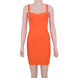 Wholesale sexy body tight dress - Dress tight body Sexy same style multicolor sling splice bandage dress dress skirt