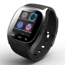 Wholesale Wrist Barometer - M26 Wireless Bluetooth Smart Watch Waterproof smartwatch Phone Bracelet Camera Remote Control Anti-lost alarm Barometer watch for smartphone