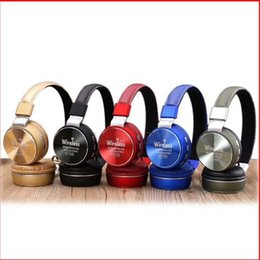 Wholesale Over Head Bluetooth - Quality AZ-006 Wireless Stereo Bluetooth Headphone Music Headsets For Iphone Samsung Sony Huawei Xiaomi IPhone MP3 MP4 Over Head Headphones